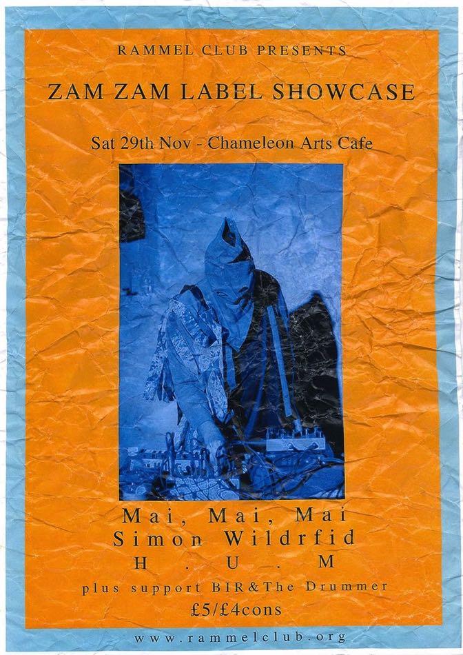 Poster/flyer by Benjamin Hallatt